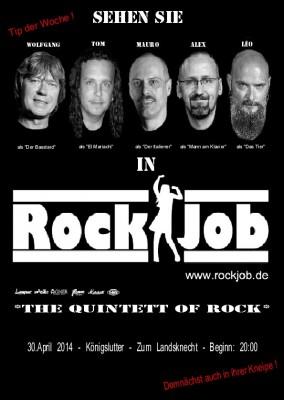 Plakat Rock Job 4