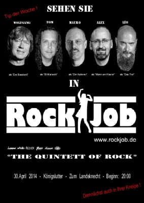 Plakat Rock Job 4